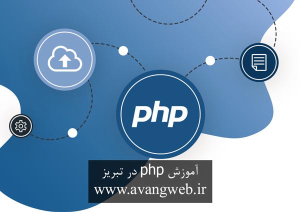 آموزش php در تبریز